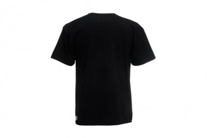 Daft Donkey T-Shirt 'Zero One Logo' (Black) - Size Medium