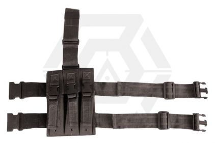 Viper PM5 Triple Magazine Drop Leg Holster (Black) © Copyright Zero One Airsoft
