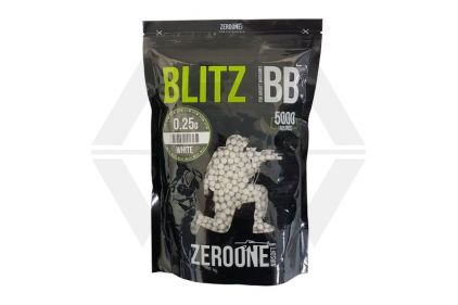 Zero One Blitz BB 0.25g 5000rds (White) © Copyright Zero One Airsoft