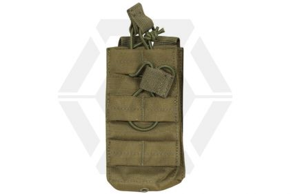 Viper MOLLE Quick Release Stacked Single Mag Pouch (Olive)