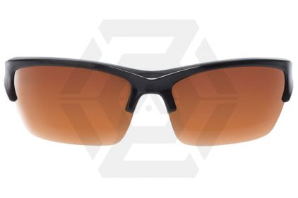 WileyX Valor Glasses with Black Frame and Smoke/Clear/Light Rust Lenses
