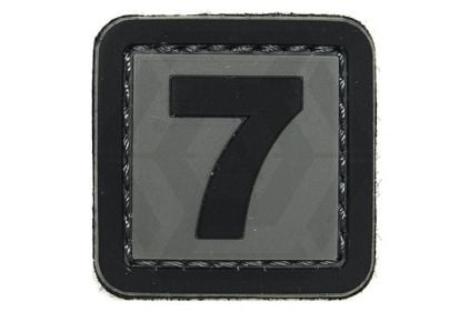 "VOS PVC Velcro Patch ""7"""