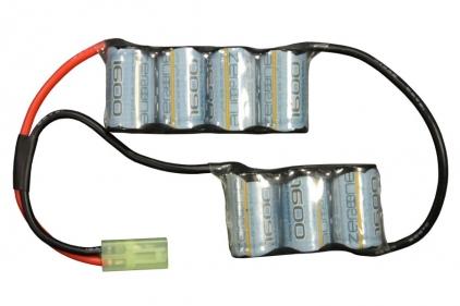 Zero One 8.4v 1600mAh NiMh GR4 G26 Battery Starter Pack Tier 1 (Bundle)