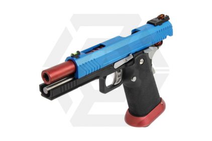 Armorer Works GBB GAS/CO2 DualFuel Hi-Capa HX11 (Blue/Red)