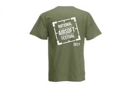 Daft Donkey Special Edition 'NAF 2017' T-Shirt (Olive)