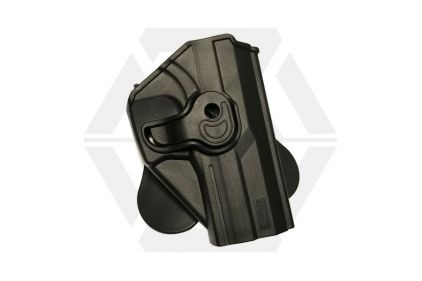 Amomax Rigid Polymer Holster for GTP-9 & USP (Black) © Copyright Zero One Airsoft