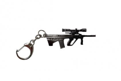 """Zero One Key Chain """"AUG"""" © Copyright Zero One Airsoft"""