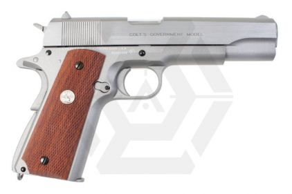 Cybergun GBB CO2 Colt Government 1911 Mark IV Series '70 (Silver)