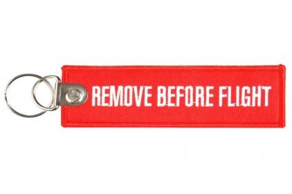 "101 Inc Key Chain ""Remove Before Flight"" © Copyright Zero One Airsoft"