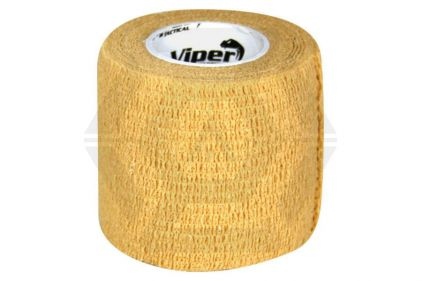Viper TacWrap Tape 50mm x 4.5m (Coyote Tan)