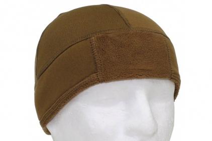 MFH Fleece Hat (Coyote Brown) - Size 59-62cm