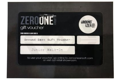 Ground Zero Gift Voucher for Junior Walk-On