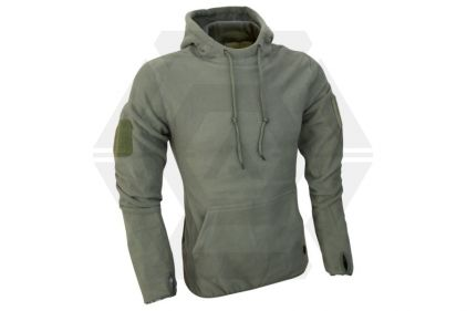 Viper Fleece Hoodie (Olive) - Size Medium