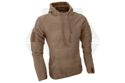 Viper Fleece Hoodie (Coyote Tan) - Size Large