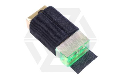 FMA KNVIR-14 with Velcro Backing (Black with Green Light)