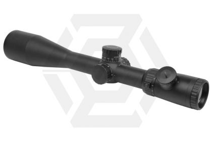 G&G 2.5-10x50 Blue/Green Illuminating Scope with Mil-Dot Reticle