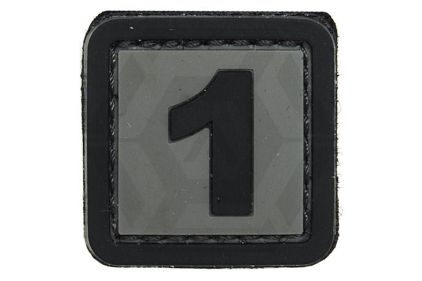 "VOS PVC Velcro Patch ""1"""