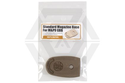 Guarder Magazine Base Plate for Marui M&P 9 (Dark Earth)