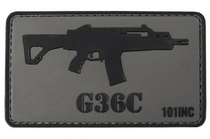 "101 Inc PVC Velcro Patch ""G39C"" © Copyright Zero One Airsoft"