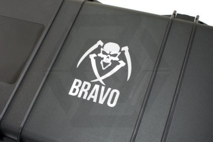 Zero One Vinyl Decal 'Bravo with Name' © Copyright Zero One Airsoft