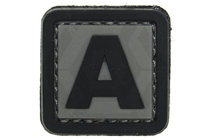 """VOS PVC Velcro Patch """"A"""""""