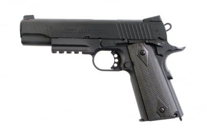 KWC/Cybergun GBB CO2 Colt M1911 Rail Gun (Matt Black) © Copyright Zero One Airsoft