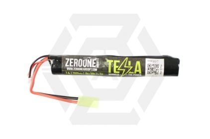 Zero One Tesla Battery 7.4v 2500mAh 15C Li-Ion (Stick) © Copyright Zero One Airsoft