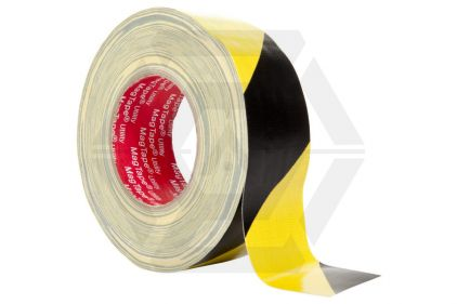 Zero One Gaffer Tape 50mm x 50m (Hazard)