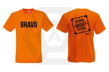 Daft Donkey Special Edition 'NAF 2017 Bravo' T-Shirt (Orange)