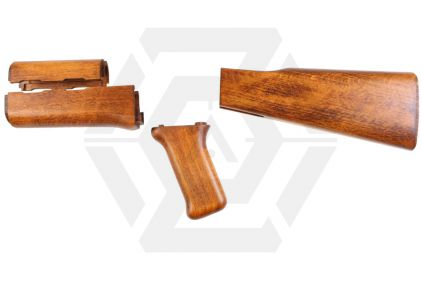CAW Wood Furniture Kit for Marui Recoil AK Type 3