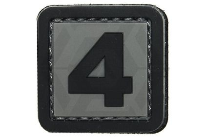 "VOS PVC Velcro Patch ""4"""