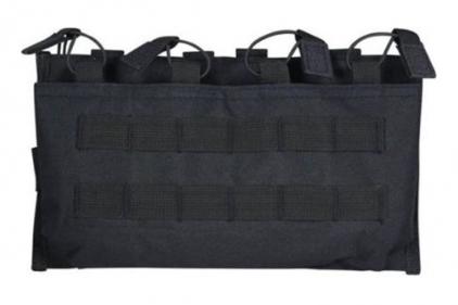 Viper MOLLE Quick Release Quadruple Mag Pouch (Black) © Copyright Zero One Airsoft