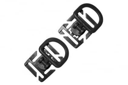 Viper Tactical D-Ring Set of 2 (Black)