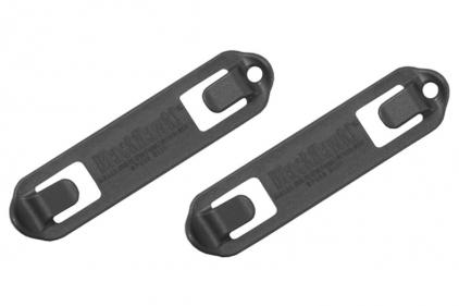 Blackhawk MOLLE 3 Width Speed Clip Set of 6 (Black)