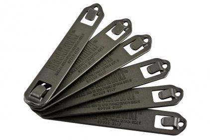 Blackhawk MOLLE 5 Width Speed Clip Set of 6 (Black)