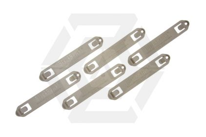 Blackhawk MOLLE 5 Width Speed Clip Set of 6 (Coyote Tan) © Copyright Zero One Airsoft