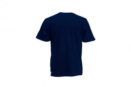 Daft Donkey T-Shirt 'Just Hit It' (Dark Navy) - Size Large