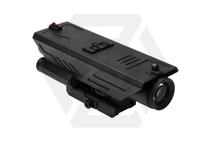 NCS 4x30 Blue/Red Illuminating DELTA Scope with Red/White Navigation Light & QR Mount