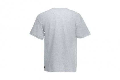 Daft Donkey Christmas T-Shirt 'Santa I NEED It Sniper' (Light Grey) - Size Medium