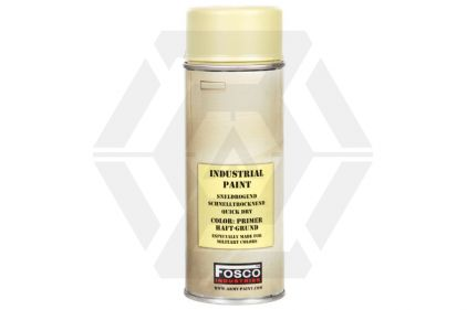 Fosco Army Spray Paint Primer 400ml (Beige)
