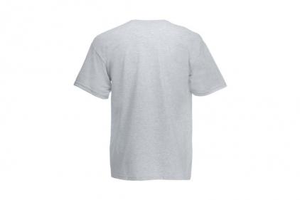 Daft Donkey Christmas T-Shirt 'Bloody Ho Ho Ho' (Light Grey) - Size Medium