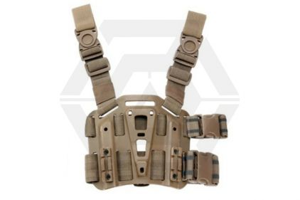 *Clearance* Weekend Warrior CQC Leg Platform (Coyote Tan)