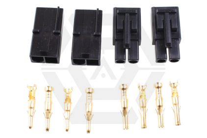 Laylax (Prometheus) Gold Plated Tamiya Connector Set - Large