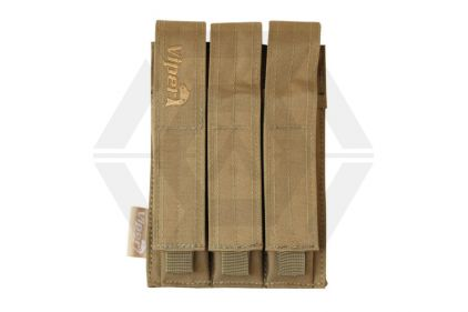 Viper MOLLE PM5 Triple Magazine Pouch (Coyote Tan)