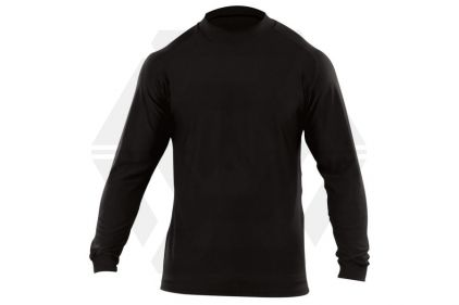 5.11 Winter Mock Long Sleeve (Black) - Size Medium