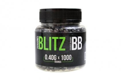 Zero One Blitz BB 0.40g 1000rds (Black) Box of 10 (Bundle)