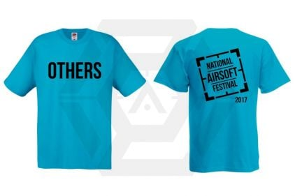 Daft Donkey Special Edition 'NAF 2017 Others' T-Shirt (Electric Blue)