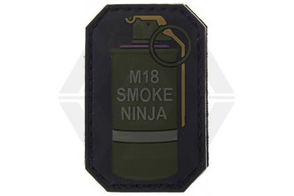 "VOS PVC Velcro Patch ""M18 Smoke Ninja"" © Copyright Zero One Airsoft"