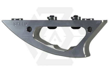 Speed Airsoft Shark Foregrip for KeyMod (Silver)