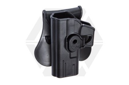 ASG Rigid Polymer Holster for Glock Left Hand (Black)